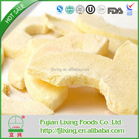 2015 hot sale freeze dried fruit of crispy apple fruit