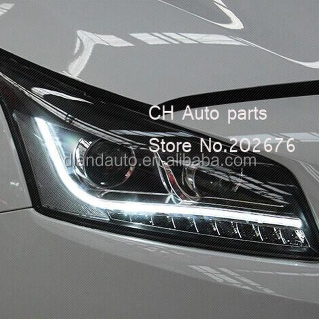 DLAND 2015 COMPLETE ANGEL EYE HEADLIGHT, WITH BI-XENON PROJECTOR FOR CHEVROLET CRUZE