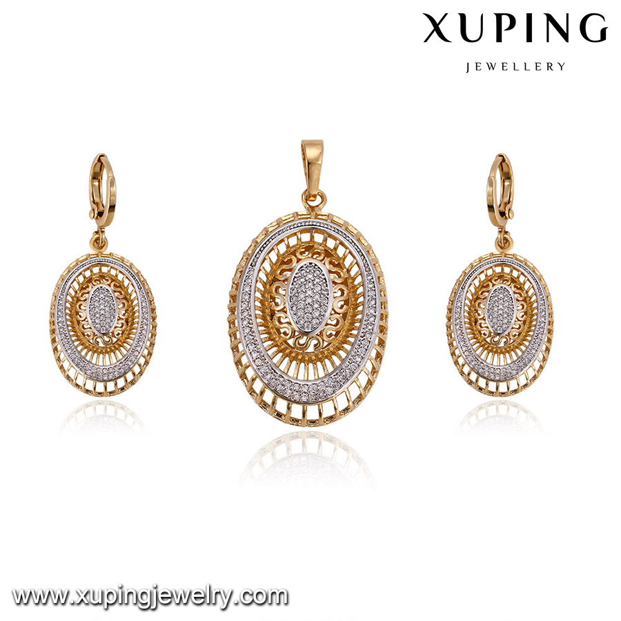 64382 Imitation pakistani gold jewellery, xuping fashion set ...