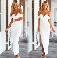Bestdress party design clothes 2015 NEW ARRIVALFASHION NIGHT CLUB BACKLESS SIDE SLIT PENCIL DRESS