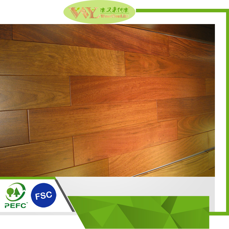 New Design Smooth Jatoba Handscraped Wood Flooring With Great Price Jatoba Solid Wood Flooring