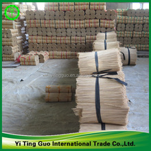 Raw material bamboo stick for making joss power incense stick