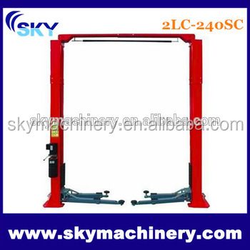China Manufacturer Two Post Hydraulic Lift for Car Wash
