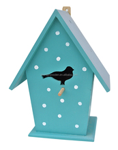 factory suppliers selling FSC DIY wooden self assembly bird house kids educational toys