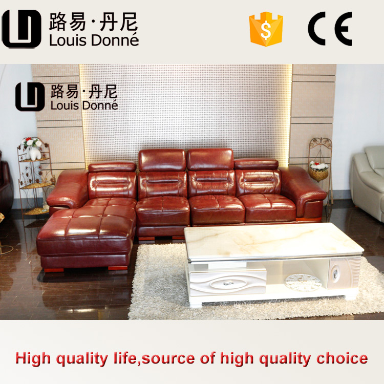 Hot selling factory price calia leather sofa