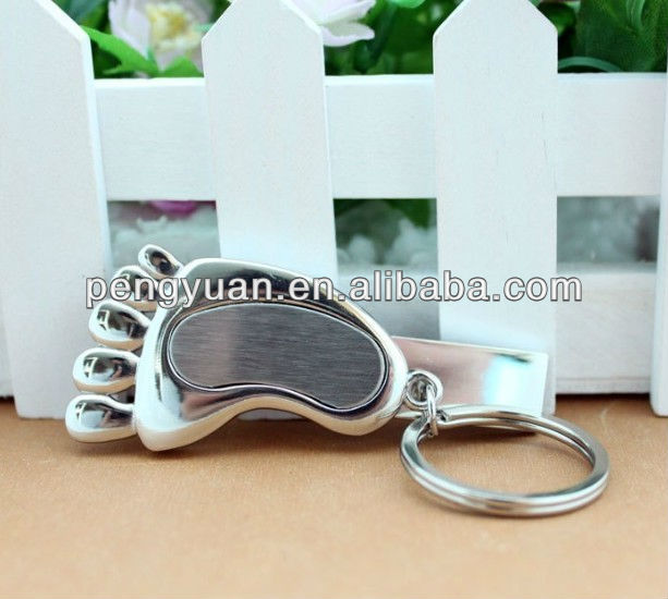Metal footprint mini usb flash drive best promotion gifts (PY-U-322)