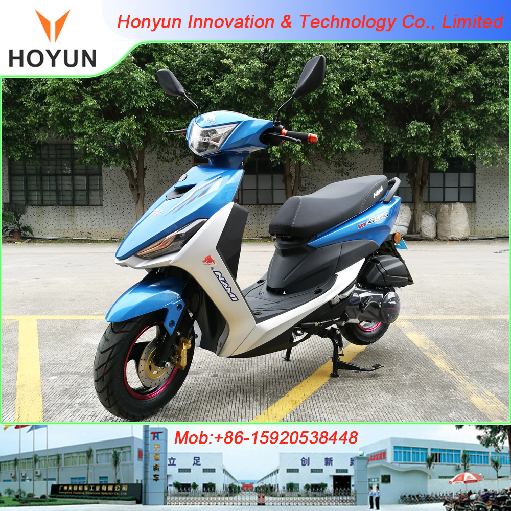 Hot sale in Latin America Peru HOYUN FS JOG 125 lady motorcycles