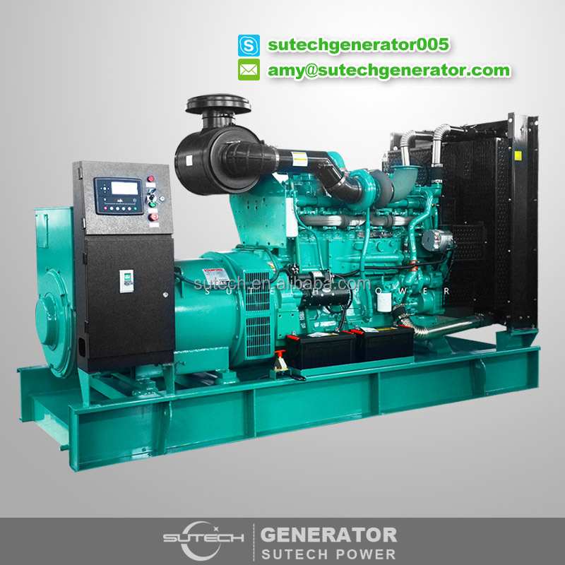 60hz ISO certificated 500 kva diesel generator powered by Cummins engine KTA19-G2