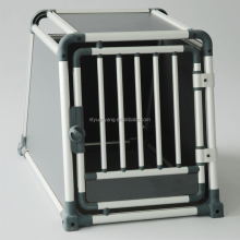 new luxuriant waterproof shockproof aluminum folding dog cage case