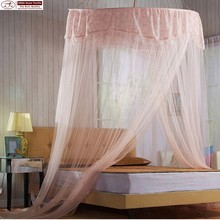 Mosquito netting for girls bed canopy circle hanging stainless steel pop up canopy with lace mosquito net