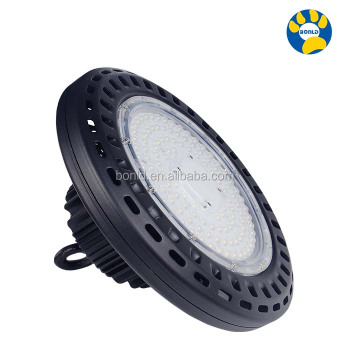 high quality best price 5 years warranty baseball field waterproof casting aluminum optical lens reflector 80W led ufo high bay