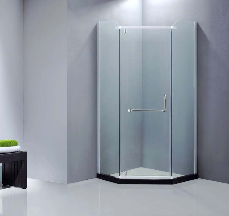 Autme china Diamond cheap 8mm tempered glass shower door