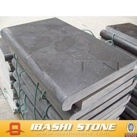 China manufacture lowest price limestone coping stone