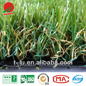 4-color Artificial grass for landscape and kindergarden