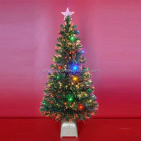 120 CM LED Decorative Fiber Optic Christmas Trees