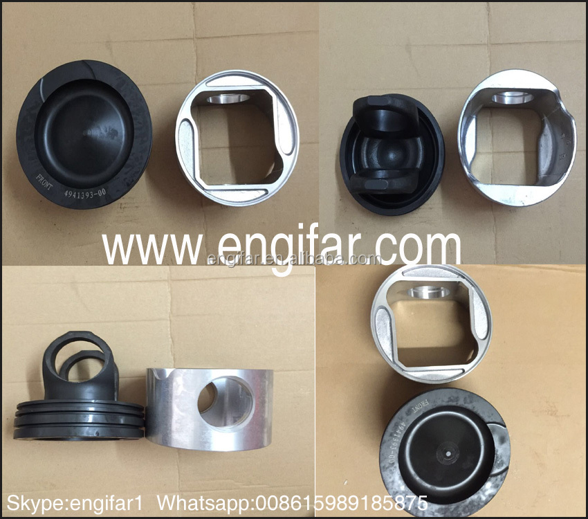 VOLVO D12D PISTON piston crown head skirt aluminum piston