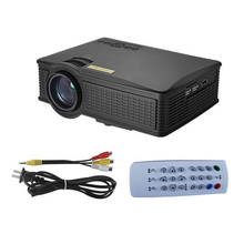 Cheap Price LED Projector SD50 Plus 1500 Lumens 1080P 1000 : 1 Contrast Ratio with HDMI VGA AV Remote Controller