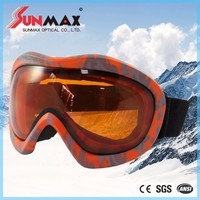 good quality ski goggles strap goggles ski sports cheap snow goggle with high quality