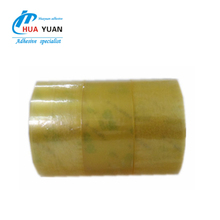 Yellowish BOPP outdoor waterproof clear/transparent packing tape