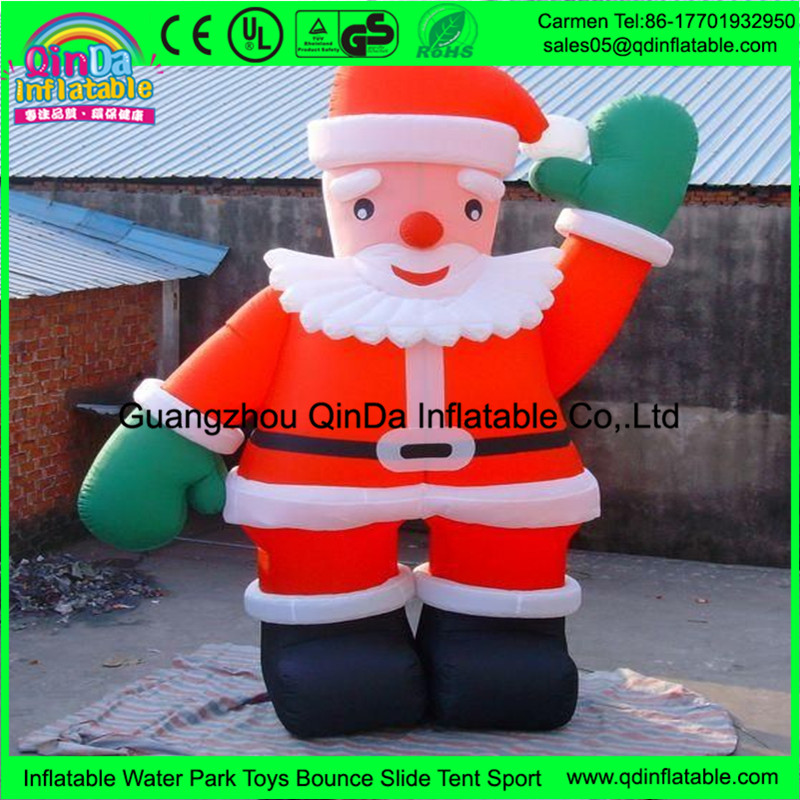 Made in China Inflatable Christmas Santa Claus, Inflatable Snow Man, Hot Sale Christmas Inflatable