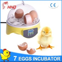 7 eggs CE Approved automatic solar mini 7 egg incubators hatcher YZ9-7