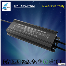 IP67 waterproof electronic power supply 0-10V pwm dimmable constant current led transformer 50w 500ma 700ma 900ma led driver