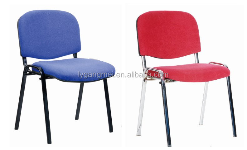 Cheap high quality office fabric visitor/guest four legs chair