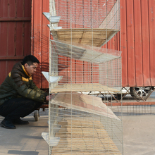 Used rabbit battery cage for delivery sale