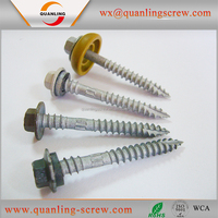 Hot sale top quality best price roofing nails screw