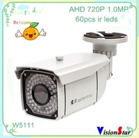 Surveillance camera system ahd 720p sony 1.0mp video output cmos motion sensor cctv outdoor housing with ir ip66