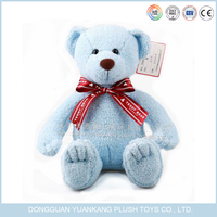 Wholesale blue color sleeping teddy bear pet toy sale to oversea market