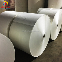 High quality food grade greaseproof paper cup raw material, PE coated paper in roll