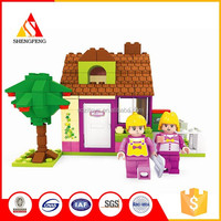 Peasant family and tree china supplier building block