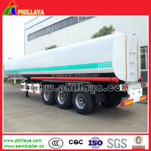 Tri Axle oil CIMC-type Best Price fuel tanker truck dimensions/fuel tank truck semitrailer semi-trailer for africa market