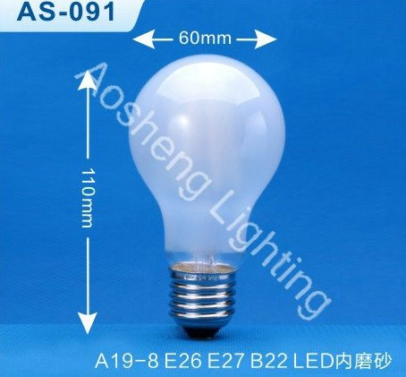 A19 LED Filament Lamp Decprative light bulb AS-091