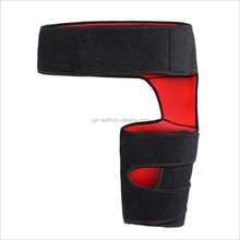 Customized logo Neoprene Thigh Wrap Adjustable Hip Support