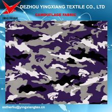 T/C 65/35 200gsm, 240gsm purple camouflage fabric