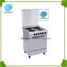 Zhongshan outdoor gas oven Cooking Range 4 hotplates cooker, 4 hotplates electric oven for Nigeria
