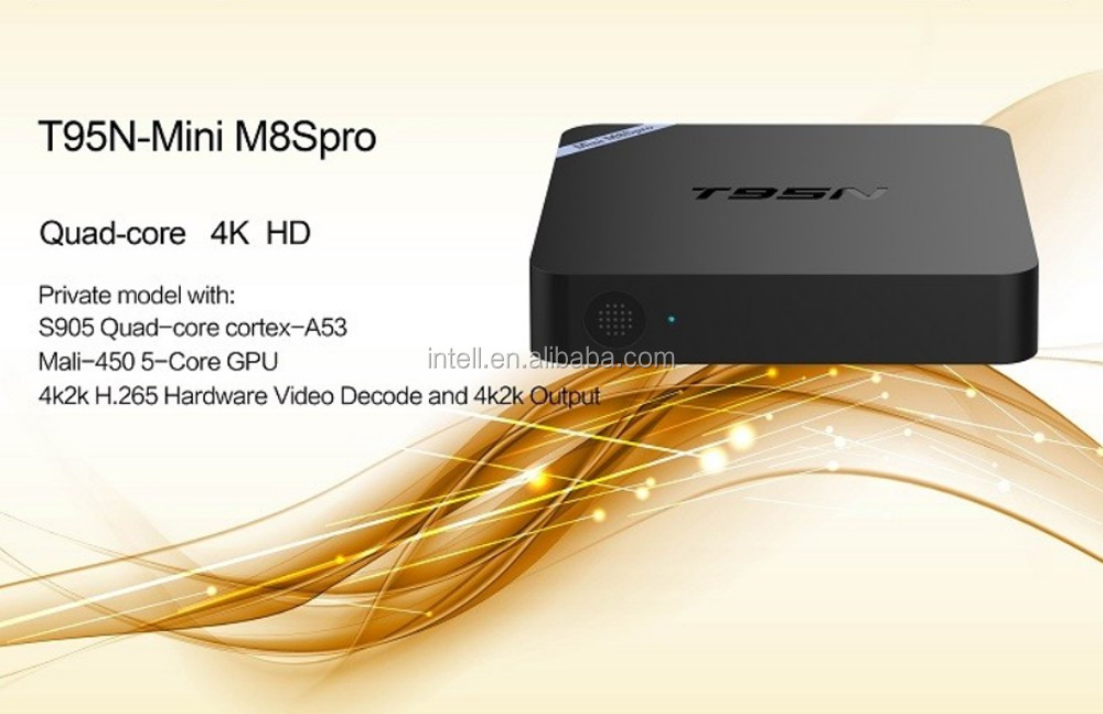hot selling factory manufacture T95n Mini M8s Pro 2gb Ram,T95n Android 6.1 Tv Box Hot Selling Canada