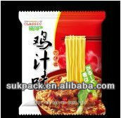 Reciprocating cutter instant noodle packaging machine