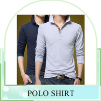 hot sell cotton plain polo t-shirts for men