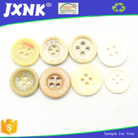 custom engaved logo fancy all types of plastic resin button