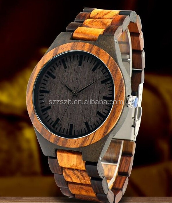Bewell Top selling dropship vogue women's wooden watch