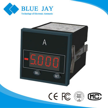 BJ193U LED Single Phase & three phase digital Voltage Meter, max to 450V AC voltage meter