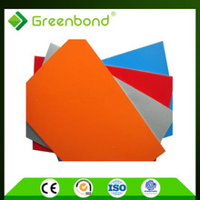 Greenbond Outdoor PVDF Coating Aluminum Composite Panel Wall With 4mm 3mm 5mm Thick
