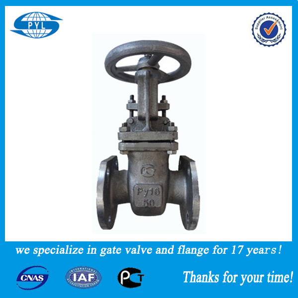 A class rising stem pn16 2''4'' gate structure valve sales in Russia
