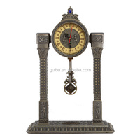 Antique Brass Alarm Table Clock,Decorative Table Clock,Fancy Table Clock
