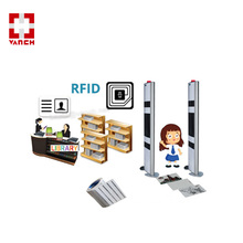 RFID library books tracking system with Alarm uhf rfid gate reader