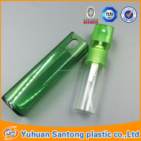 10ml Wholesale - Dropper Spary e Liquid Plastic square cover stereo prefumer PET/glass Bottles