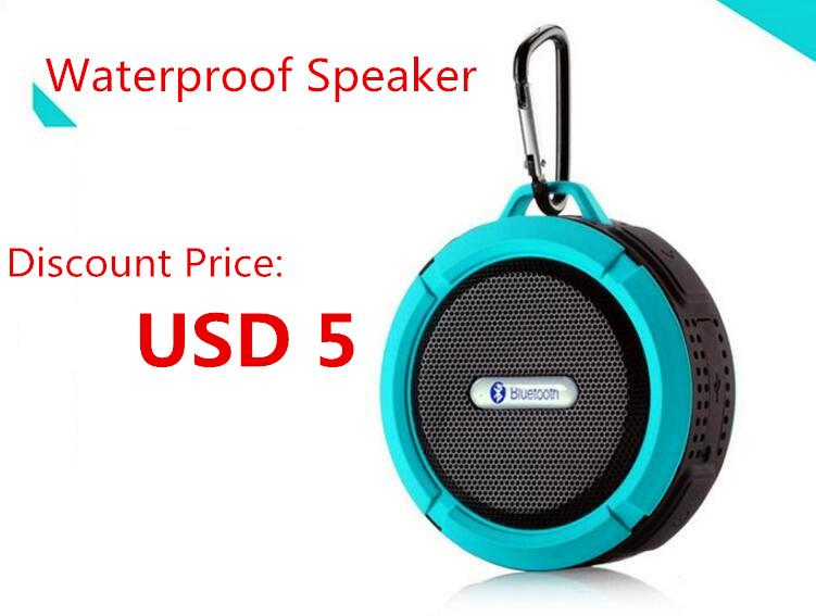 Factory Price Popular Mushroom Shower Mini Waterproof Bluetooth Speaker with TF card